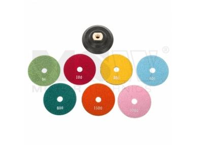 Šlifavimo diskai, 7vnt. 2