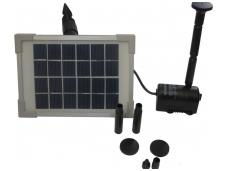 Siurblys fontanui su saulės baterija 2W 6V