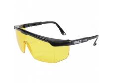 Apsauginiai akiniai geltoni