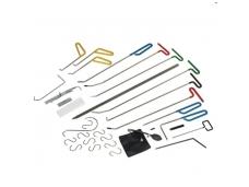 Įrankių rinkinys kėbulo įlenkimų šalinimui be dažymo, 33 vnt.