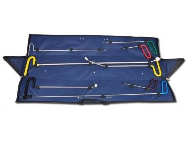 Įrankių rinkinys kėbulo įlenkimų šalinimui be dažymo, 8 vnt.