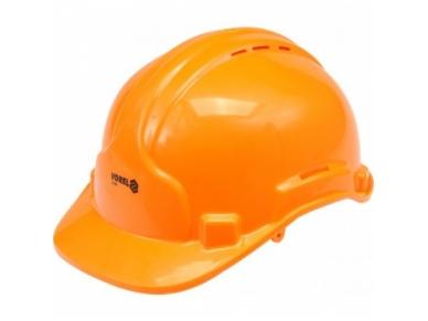 Šalmas apsauginis oranžinis
