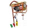 Statybinis telferis su vežimėliu 300kg, 23m/min, 25m