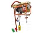 Statybinis telferis su vežimėliu 300kg, 23m/min, 25m, 400V