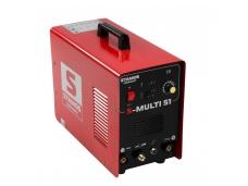 Kombinuotas suvirinimo aparatas S-MULTI 51, 180A, 230V, 1-4 mm