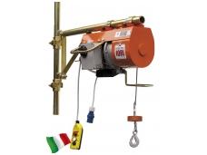 Pastolių telferis 150kg, 38m/min, 40m