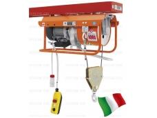 Statybinis telferis su vežimėliu 950kg, 13,3m/min, 25x2m, 400V