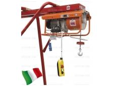 Statybinis telferis su vežimėliu 500kg, 22m/min, 25m