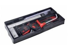 Padėklas į įrankių spintelę, matavimo įrankiai