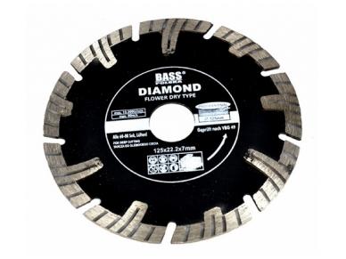 Deimantinis diskas 125mm