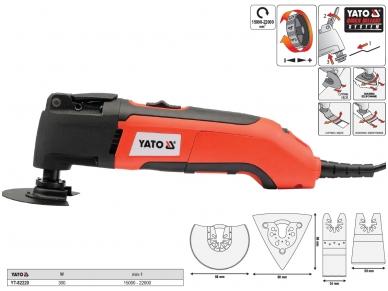 Daugiafunkcinis įrankis su priedais, 300W