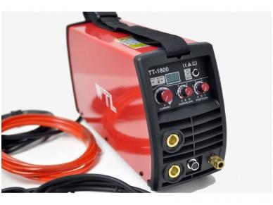 WTL TT 1800 Suvirinimo aparatas TIG/MMA, 180A, 230V, 1-5mm