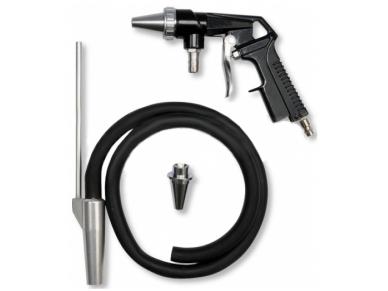 Smėliavimo pistoletas, komplektas