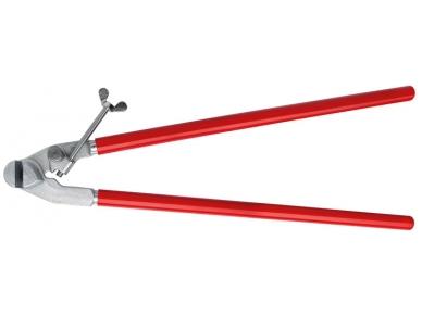 Lietvamzdžių laikiklių lankstymo replės Bessey, 680mm