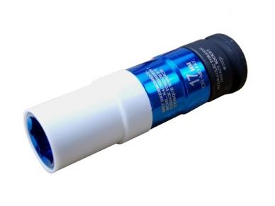 """Galvutė ilga smūginė plonasienė 1/2"""", ribota iki 115 Nm, 17 mm"""