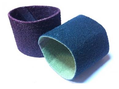 Neaustinės medžiagos abrazyvinė juosta 100x292mm COARSE