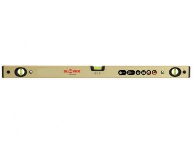 Slowik PN31 Anoduotas gulsčiukas, ilgis nuo 60 iki 200 cm, auksinis