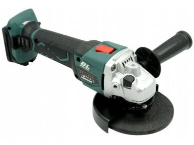 Bass Polska akumuliatorinis kampinis šlifuoklis 125mm, 24V