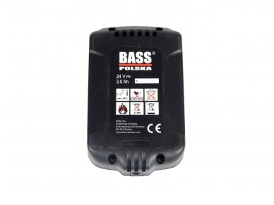 Bass Polska akumuliatorius 24V 3Ah 2