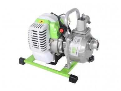 Benzininis vandens siurblys (motopompa) 1'' 1,7HP 3