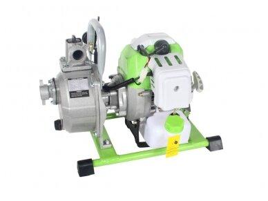 Benzininis vandens siurblys (motopompa) 1'' 1,7HP