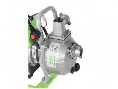 Benzininis vandens siurblys (motopompa) 1'' 1,7HP 4