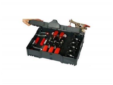 Bessey STC-S-MFT spaustuvų rinkinys lagamine FESTOOL MFT sistemai 2