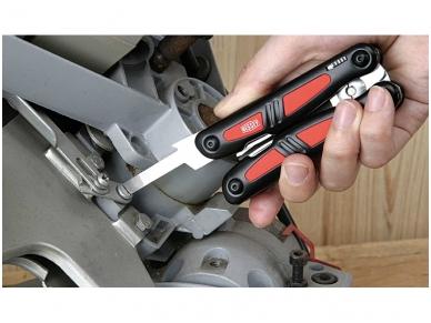 Bessey DBST daugiafunkcinis įrankis peilis Multitool su didelėmis žirklėmis 5