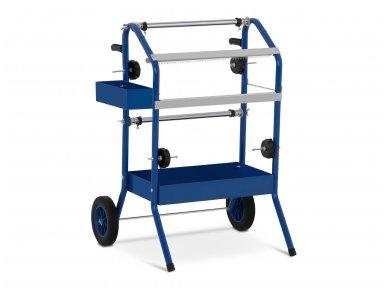 Dažų stendas – vežimėlis MSW-MT1