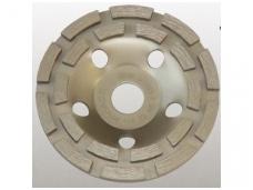 Deimantinė šlifavimo lėkštė 125mm, Double Row