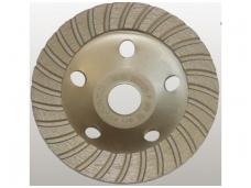Deimantinė šlifavimo lėkštė 125mm, Turbo