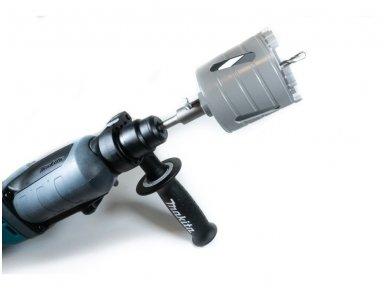 Deimantinė karūna rozetėms 82mm M16 su Turbo segmentu 3