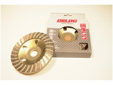 Deimantinė šlifavimo lėkštė 125mm, Turbo 3