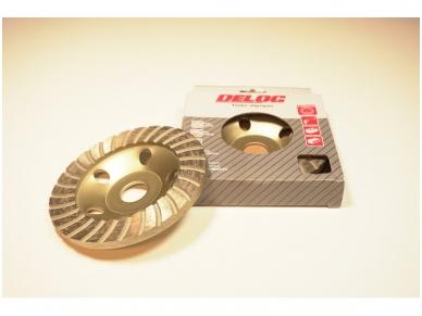 Deimantinė šlifavimo lėkštė 125mm, Turbo 2