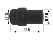 Dujinis difuzorius TW-36, plastikas, juodas
