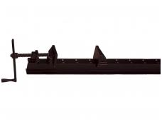 Durų spaustuvas TAN su I-formos profiliu 80 x 42 x 3,9mm