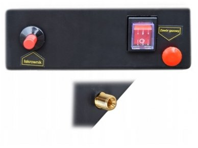 Dujinis šildytuvas NG1-15, 15 kW 3