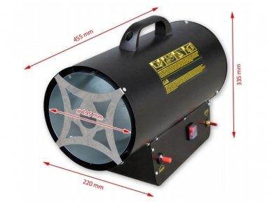 Dujinis šildytuvas NG1-30, 30kW 5