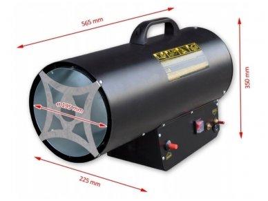 Dujinis šildytuvas NG1-50, 50kW 5