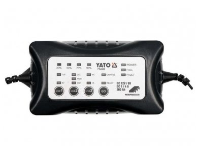 Elektroninis pakrovėjas 6V/12V 4A 200Ah