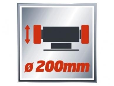 Einhell TC-BG 200 Galąstuvas, 400W 4