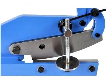 Giljotina lakštiniam metalui ir strypams, peilio ilgis 200 mm 2