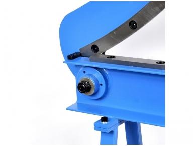 Giljotina lakštiniam metalui, peilio ilgis 800 mm 4