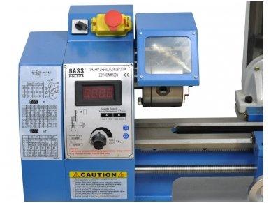 Gręžimo - tekinimo staklės 550W LCD 3