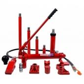 Hidrauliniai kėbulo tampymo įrankiai + rinkiniai