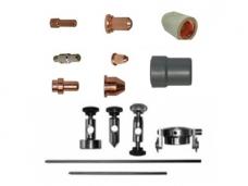 Plazminio pjovimo aparatų priedai