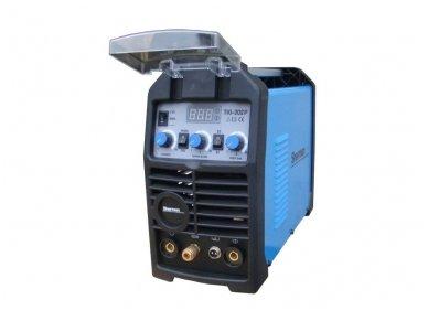 Inverterinis suvirinimo aparatas TIG 202P, 200A, 230V