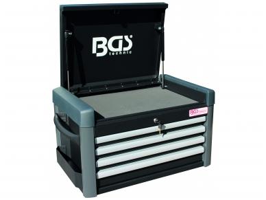 Įrankių dėžė, 4 stalčiai