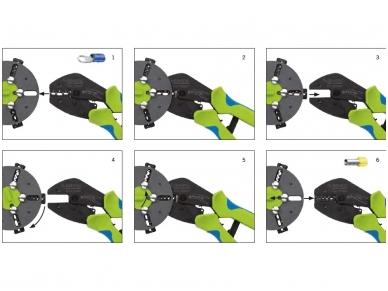 Jungčių užspaudimo replės MultiCrimp, be matricų 2