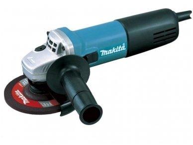 Kampinis šlifuoklis Makita 9558HNR 840W, 125mm